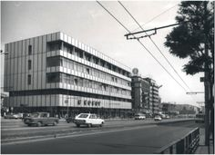 magazinul Cocor Old Pictures, Old Photos, Bucharest Romania, My Town, Socialism, Shopping Center, Past, Multi Story Building, Memories