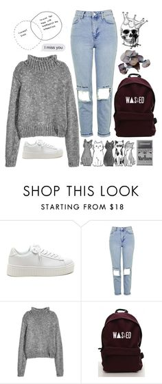 """Untitled #1361"" by nerdy-and-trendy-styles ❤ liked on Polyvore featuring Topshop, Hello Darling and KING"
