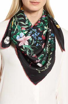 Silk Square Scarf - ELISABETH-silk scarf by VIDA VIDA s8lWsym