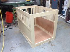 50+ End Table Dog Crate Diy - Modern European Furniture Check more at http://www.nikkitsfun.com/end-table-dog-crate-diy/