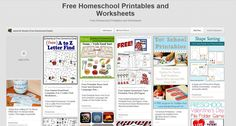 Free Homeschool Printables and Worksheets