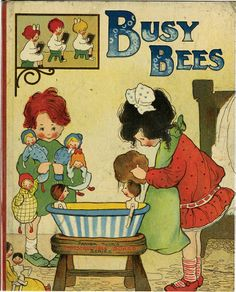 ''BUSY BEES'', illus Mabel Lucie Attwell, from Aleph-Bet Books | Pound Ridge , NY | Bibliopolis