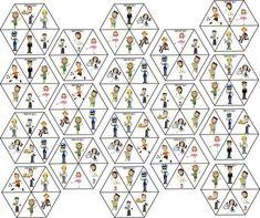 doimno szesciokat E Puzzle, Brain Games, Community Helpers, Baby Play, Painting For Kids, Pattern Blocks, Diy Toys, Kids Education, Teaching English