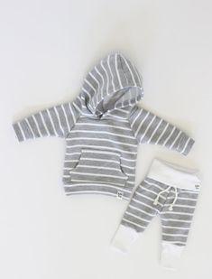 grey stripe sweatpan