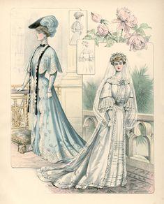 Senhoras elegantes ... nas páginas de uma revista de moda de 1903 .. Discussão sobre LiveInternet - Serviço diário russo on-line