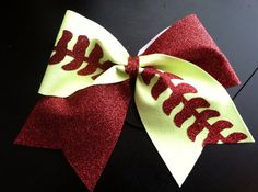 Full Glitter Softball or Baseball Cheer Bow - Hairstyles For All Softball Hair Bows, Softball Shirts, Softball Players, Cheer Bows, Softball Stuff, Softball Cheers, Softball Pitching, Volleyball Drills, Volleyball Quotes