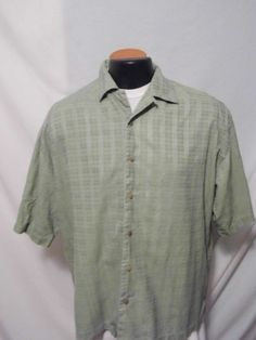 Pusser's Island Reserve Men's VTG Silk and Cotton Blend Shirt Size XL #Pussers #Hawaiian