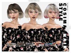 Cassie Hair, All Hairstyles, Female Hairstyles, Pelo Sims, Mo Hair, Kylie Hair, Sims Resource, Sims 4 Clothing, Sims 4 Custom Content