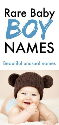 Here are the best unusual names for your new baby. These rare names are super cu… Here are the best unusual names for your new baby. These rare names are super cute and one is sure to be the right name for your new little boy. Nature Names For Boys, New Boys Names, Baby Boy Names Rare, Unusual Boy Names, Rare Names, Unique Baby Boy Names, Little Boy Names, Best Boy Names, Baby Names Boy