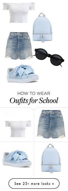 """Back2School Summer 2k18"" by sign273b on Polyvore featuring GRLFRND, MICHAEL Michael Kors and Ash"