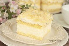 ciasto_dotyk_aniola2 Polish Desserts, Polish Recipes, Polish Food, Food Cakes, Homemade Cakes, Bon Appetit, Vanilla Cake, Nutella, Cake Recipes