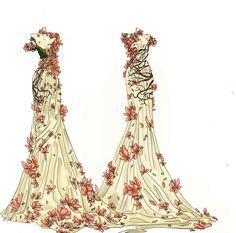 Persephone dress http://sarena-babaroga.tumblr.com/post/75093164721/story-of-a-dress-lyrota-persephone-dress