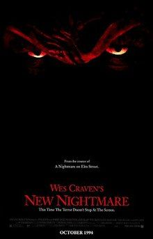 New Nightmare Poster New Nightmare, Nightmare On Elm Street, Wes Craven, Freddy Krueger, The Real World, Horror Movies, Just In Case, College, Memories