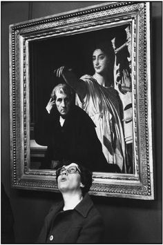 The Louvre, Martine Franck 1978