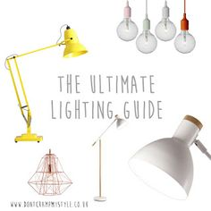 NEW POST BY @dontcrampmystyl | The Ultimatum Lighting Guide!.... | http://www.dontcrampmystyle.co.uk/2015/07/the-ultimatum-lighting-guide.html | #homedecor #lbloggers