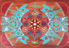 """""""ReBirth"""" Visionary Art By: Miles Toland"""