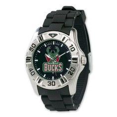 Mens NBA Milwaukee Bucks MVP Watch Jewelry Adviser Nba Watches. $31.60