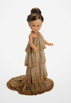 Nancy dressed by Hannibal Laguna. Doll Clothes Patterns, Clothing Patterns, Sewing Patterns, Pretty Dolls, Beautiful Dolls, Ag Dolls, Girl Dolls, Antique Dolls, Vintage Dolls
