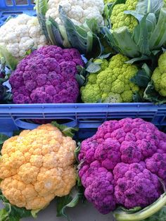 While it's easy to get caught up with winter squash at the farmers market right now, keep moving along. There are even more exciting things happening. Like orange and purple cauliflower! Here's what you should know about these vibrant vegetables!
