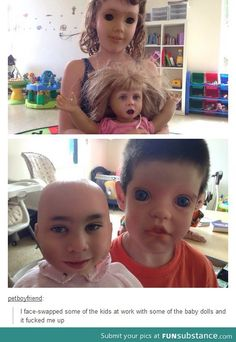 Just in case u wanted to be petrified today here's your daily dose Really Funny Memes, Stupid Funny Memes, Funny Relatable Memes, Haha Funny, Funny Cute, Scary Face Swap, Funny Face Swap, Scary Faces, Funny Faces