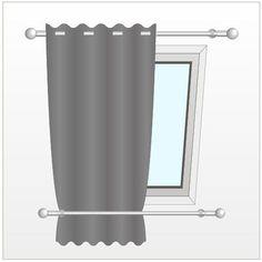 Installer un rideau sur une fenêtre de toit - Gardinen ideen - Installer un rideau sur une fenêtre de toit Installer un rideau sur une fenêtre de toit The post I - Skylight Covering, Skylight Shade, Skylight Blinds, Skylights, Diy Skylight, Roof Window, Cool Curtains, Attic Rooms, Paint Colors For Living Room