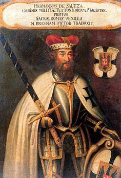 Hermann von Salza, the fourth Grand Master of the Teutonic Knights.