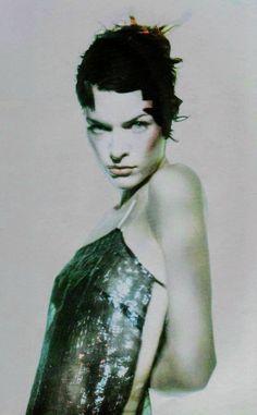 Milla Jovovich Vogue Italia (March 1998) ph. Paolo Roversi