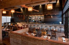 Industrial Modern are the words used to describe the new Bankers Hill Bar & Restaurant in San Diego. The interiors are rough, textured and v...