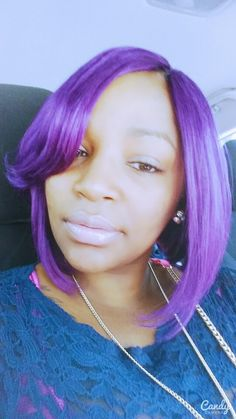 Purple Passion....My color is everything!