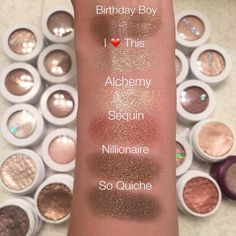 lovecolourpopColourPop Metallic Super Shock Shadows!! Must haves! My personal faves are Sequin and I ❤️ This! Let me know what you want to see next loves!