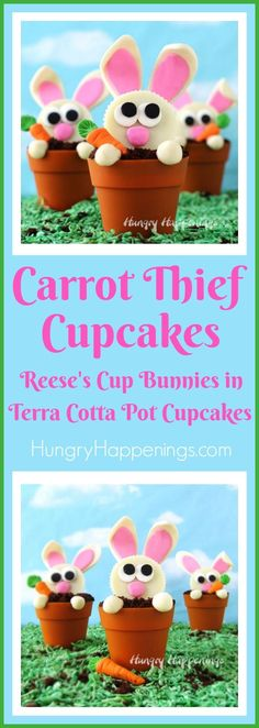 Carrot Thief Cupcake