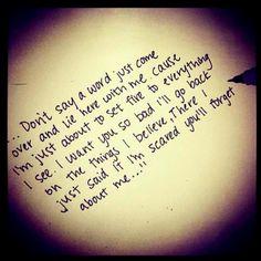 John Mayer <3 Edge of Desire lyrics