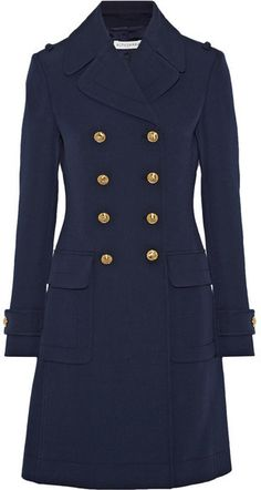 Altuzarra - Baker Double-breasted Wool Coat - Navy