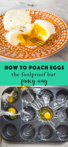 How to Poach Eggs (The Foolproof but Fancy Way) #healthybreakfasts