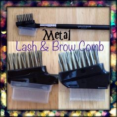 Our NEW metal lash comb!! Take a look at all of our new products!