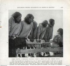 Girls Watch A Raindeer Roundup  /Druck, Entnommen Aus Zeitschrift/1939 - Bücher, Zeitschriften, Comics