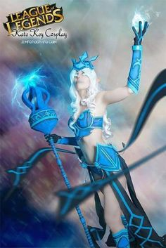 tempest janna cosplay League of Legends  by KateKomandoCosplay