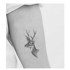 Deer head tat