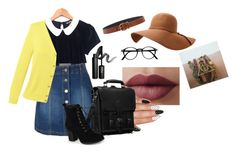 """""""C's outfit"""" by solia-horn on Polyvore featuring LE3NO, Hot Topic, Lands' End, Journee Collection, INIKA and Prada"""