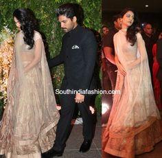 Allu Arjun and Sneha Reddy at Sreejas Wedding Reception photo