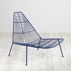 Domino Lounge Chair (Navy)  | The Land of Nod
