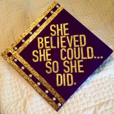 Love this JMU graduation cap!