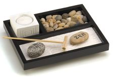 A desktop zen garden for the coworker who deserves a dang break. | 27 Things Your Best Friend At Work Would Love
