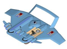 Футуристический проект экраноплана (The project is a futuristic WIG craft) Flying Ship, Aircraft Design, Ships, Boats