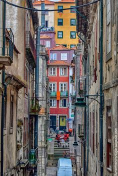 Porto city, one of the most beautiful cities of Portugal full of color and joy. This city got me inspired Places In Portugal, Visit Portugal, Spain And Portugal, Portugal Travel, Algarve, Places To Travel, Places To See, Places Around The World, Around The Worlds