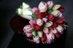 tavaszi menyasszonyi csokor