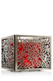 Willow Square 14.5 oz. 3-Wick Candle Sleeve - Slatkin & Co. - Bath & Body Works