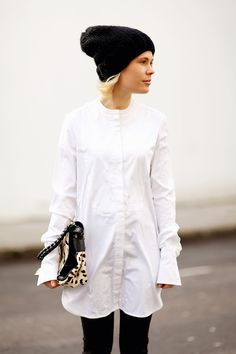 black, white + leopard