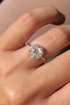 Rose Gold Engagement Rings That Melt Your Heart ❤ See more: http://www.weddingforward.com/rose-gold-engagement-rings/ #weddingforward #bride #bridal #wedding