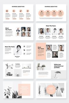 Ideas for the team page Creative Powerpoint Presentations, Powerpoint Design Templates, Powerpoint Themes, Flyer Template, Design Presentation, Presentation Folder, Presentation Slides, Booklet Design Layout, Brochure Design Layouts